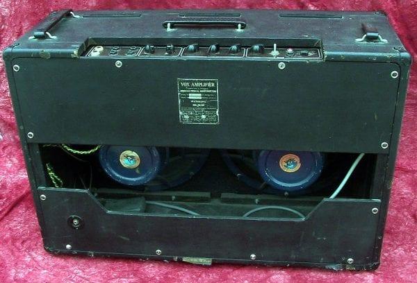 Vox 1963 AC 30 back