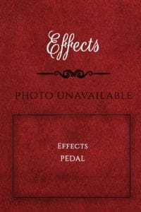 Guitar Effects Pedal Sign