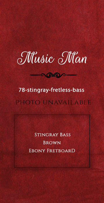 Music-man-78-stingray-fretless-bass