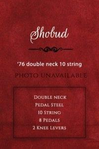 Shobud Guitar 1976-double-neck-10-string